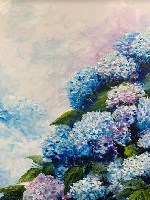 """Hydrangeas"" by Marsh Ryon"