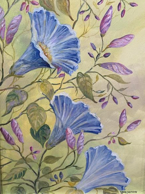 """""""Blue Glories"""" by Thelma Peterson"""