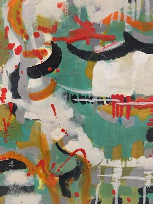 """""""Leaping Anew"""" by Elise Shelton-Mayo"""