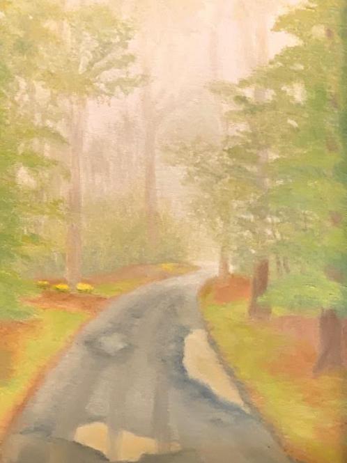 """Spring into Fog"" by Dottie Troxler"