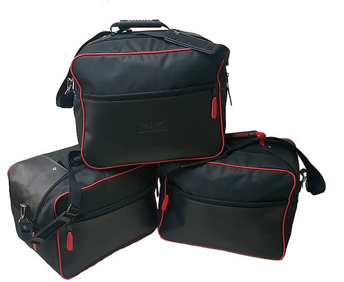 Kit Bolsas Laterais E Top Case Ducati Enduro c/ Alças TiraColo