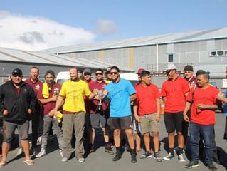 Team BBQ at Hamilton Yard