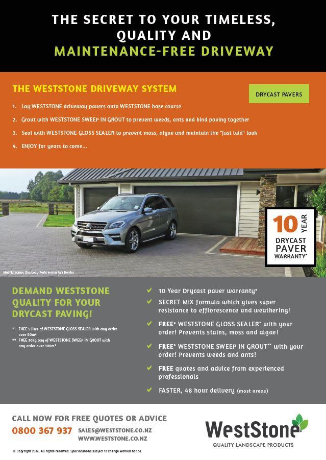 WS Driveway Flyer