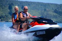 Me and Richard on the jet ski