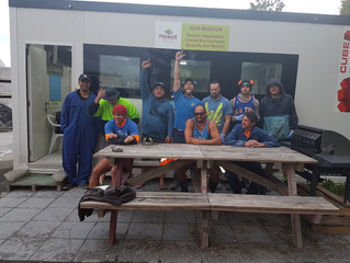 Tauranga Team Celebrating Stress Awareness Day!!!! In Blue!!!!! :)
