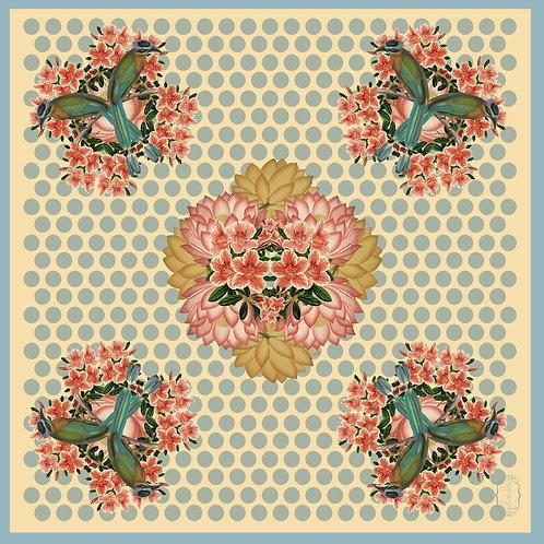 Quetzal & Flowers Scarf