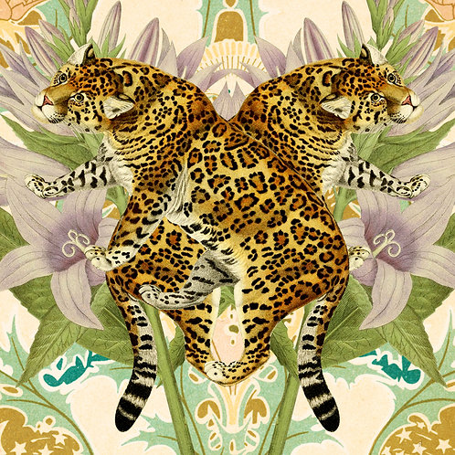 Leopard - Sold as individual coaster.