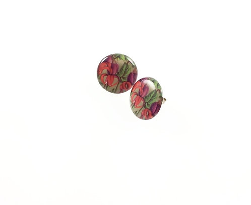 Floral Studs