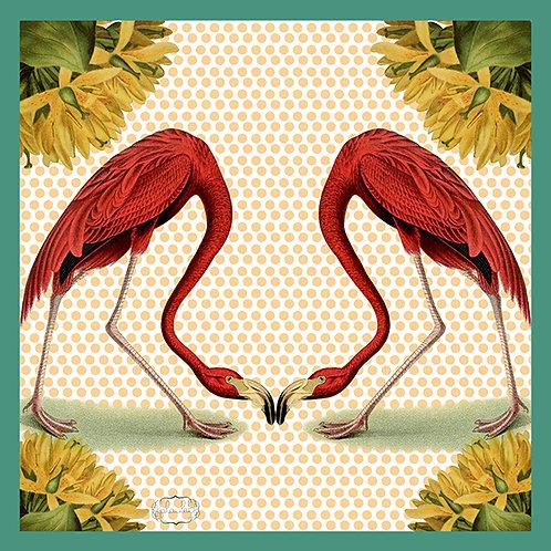 Flamingos Scarf