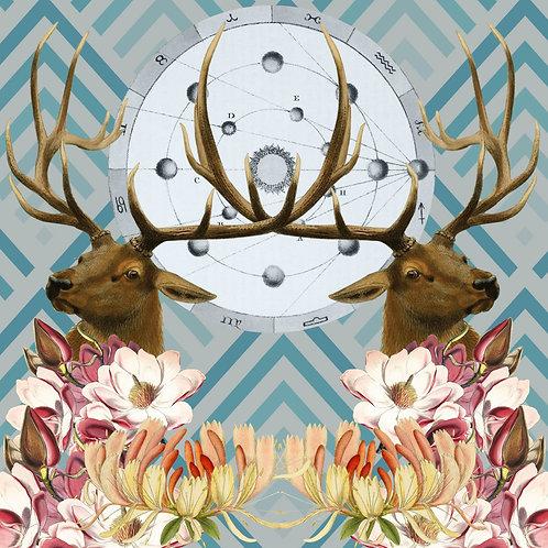 Deer - Sold as individual coaster.