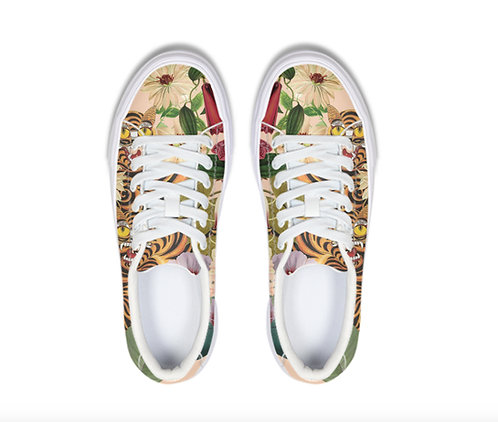 Tigers and flowers Sneaker
