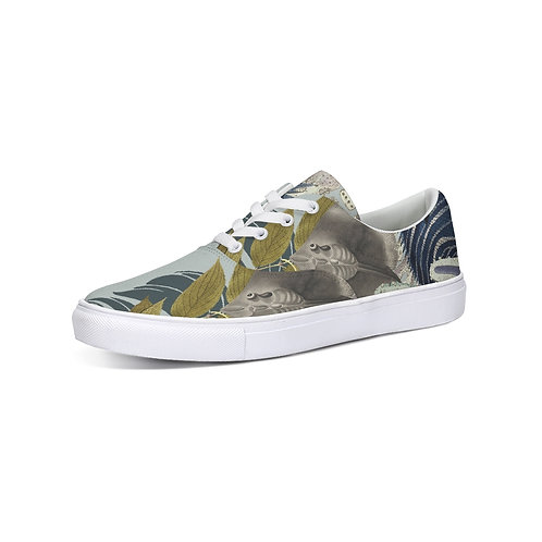 Stringray Lace Up Canvas Shoe