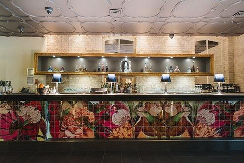 Tiled Mural - Los Colibris Mexican Restaurant-