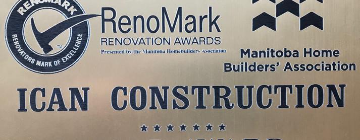 Renomark 2017 Gold Award