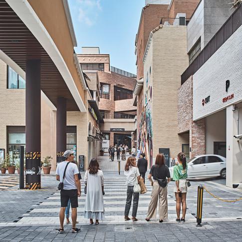 Gwanggyo Alleyway