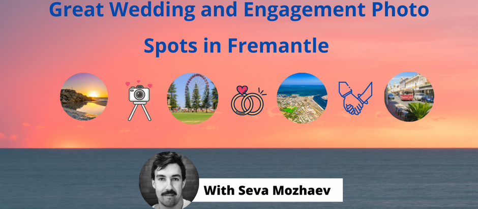Beautiful Wedding Photo Locations in Fremantle – Tips from a Perth Wedding Photographer