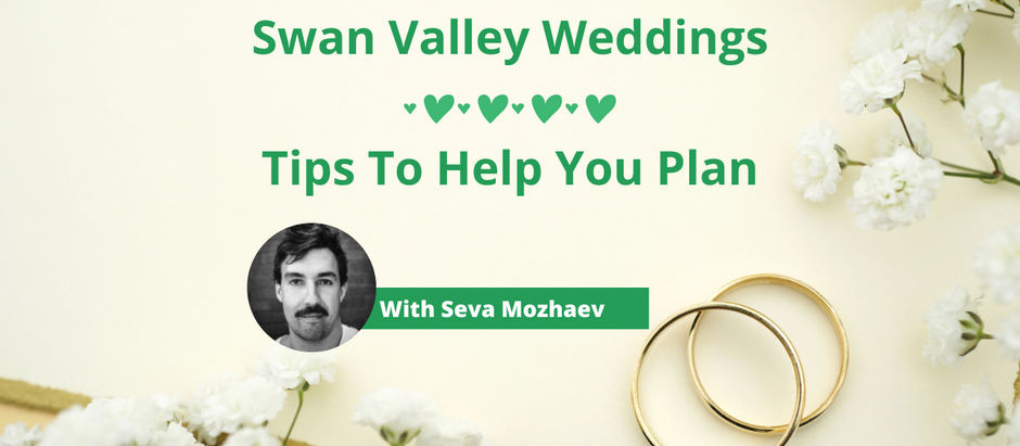 Weddings in Swan Valley – Here's What You Need To Know