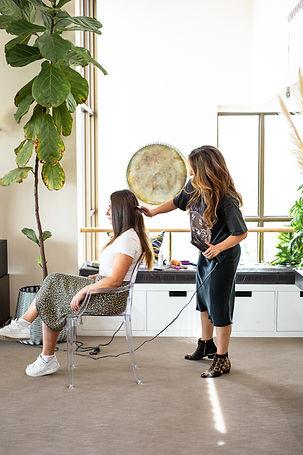 Crimped hairdresser hair stylist perth12