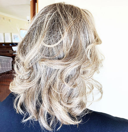 Crimped Hairdresser Hair stylist Perth Mobile Styling