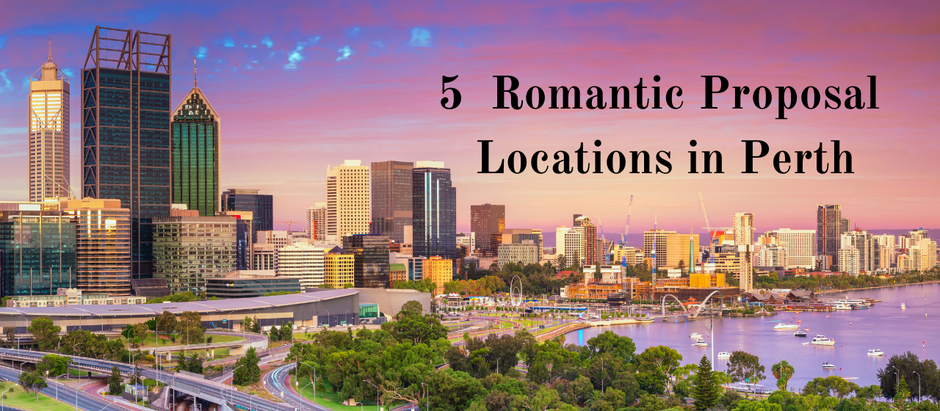 5 Really Romantic Proposal Locations – Perth Wedding Photography