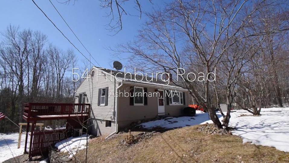 54 Fitchburg Road Ashburnham, MA - Video
