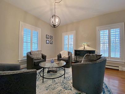 Interior Design Home Staging Sitting Room