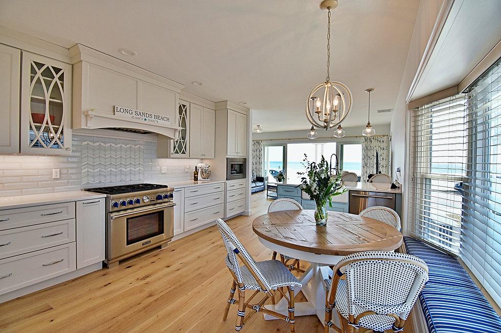 Joshua Allen Design - Interior Design - Property Staging - Photography - Massachusetts - Worcester County - New England - Decor - Kitchen - Beach House - York, Maine - Modern Coastal