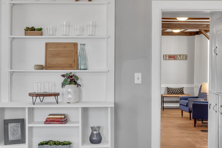 Interior Design Home Staging Built In Dining