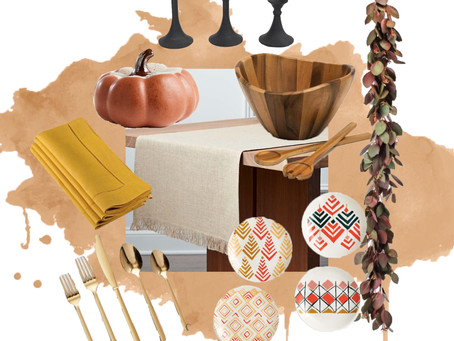 Designer Finds: Thanksgiving Table Edition
