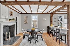 Interior Design Home Staging Historic Dining Eat In Kitchen