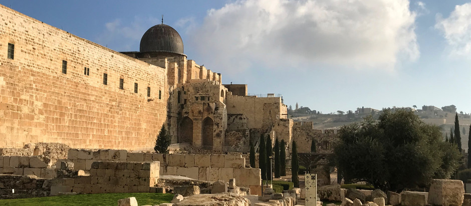 Jobs Fill Your Pocket, But Adventure Fills Your Soul - Our Trip to Israel