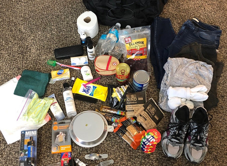 What to Put in Your Personal 72 Hour Kit