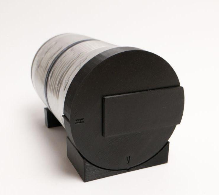 The TINHOLE Camera - Zusammengebaut
