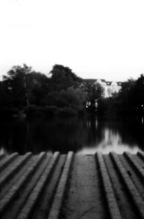 Im Stadtpark II - Aufgenommen mit The TINHOLE Camera
