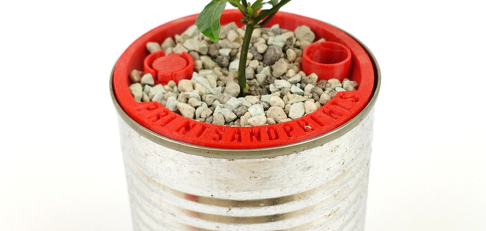 Hydroponics Tin Can Upcycling