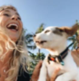 Vera Berne Virtuelle Assistentin mit Hund