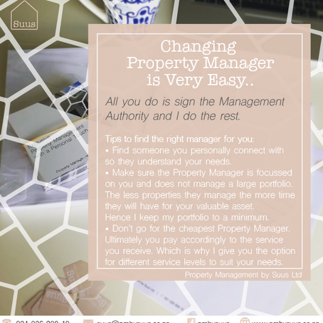 Thinking of Changing Property Manager?