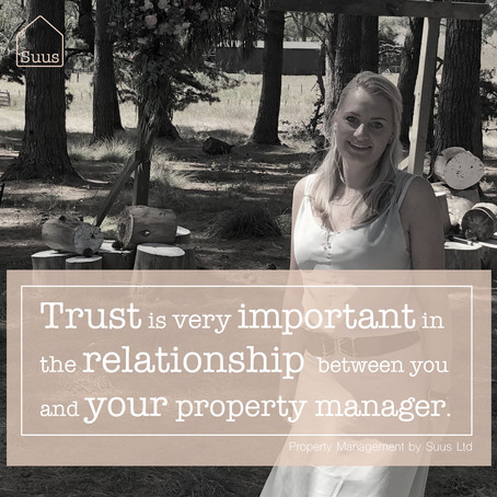 Trust Your Property Manager