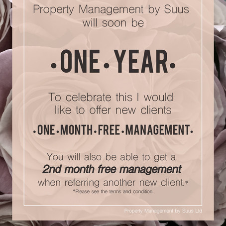 Celebrating One Year of Business!