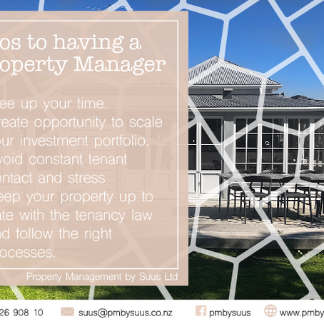 Pros to having a Property Manager