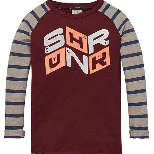 Scotch and Soda Raglan T-Shirt