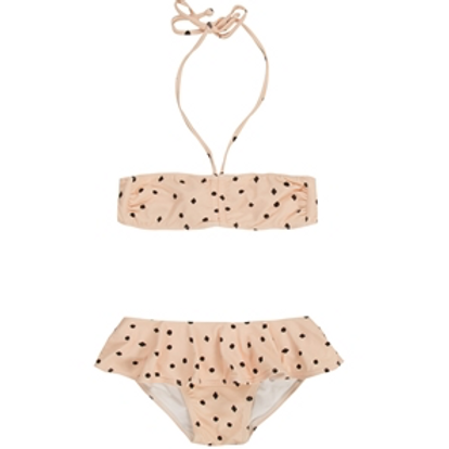 Rylee and Cru Dots n Diamonds Blush Bikini