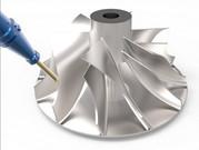 Cimatron 5軸干涉檢查策略在葉片加工中的應用實例