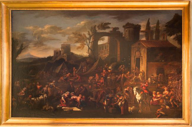 Paisaje de D. Teniers el Joven
