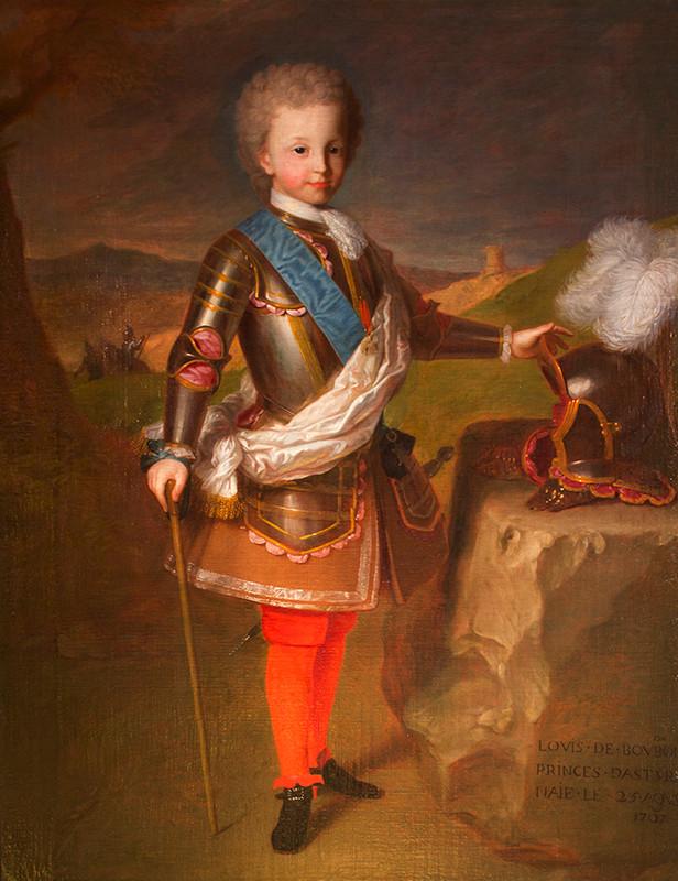 Retrato de un joven Luis I (1707-1724)
