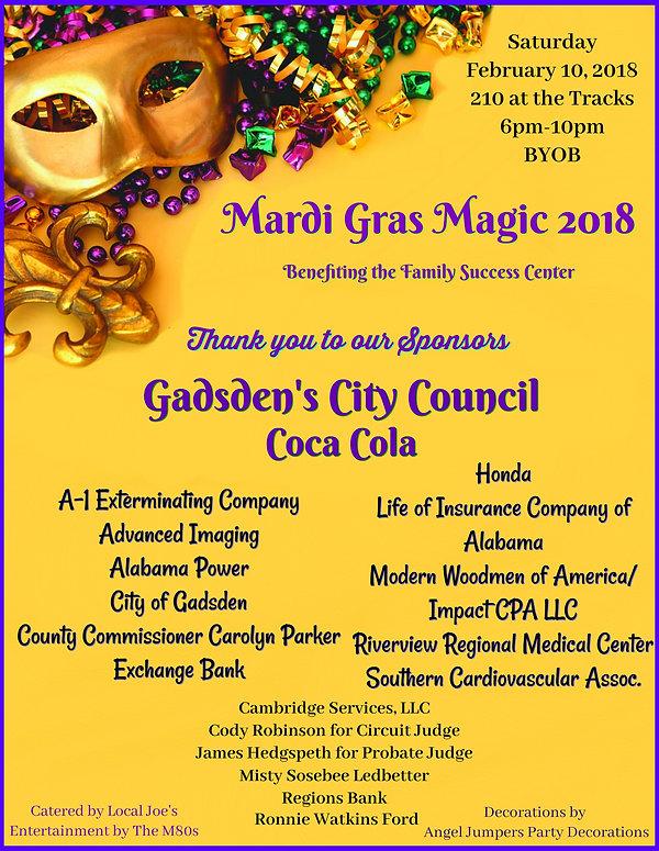 Mardi Gras Magic | Home | Family Success Center