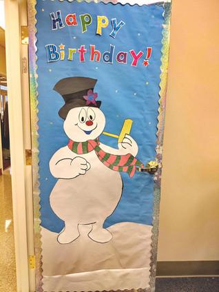 Yearly Christmas Door