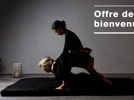 Offre promotionnelle massage thaïlandais