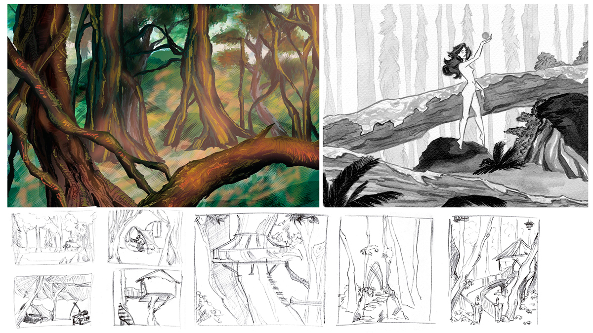 Forest environment design