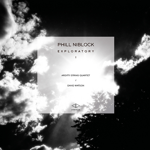 PHILL NIBLOCK - EXPLORATORY VOL 1 - LIMITED EDITION 300 COPIES - CLEAR VINYL